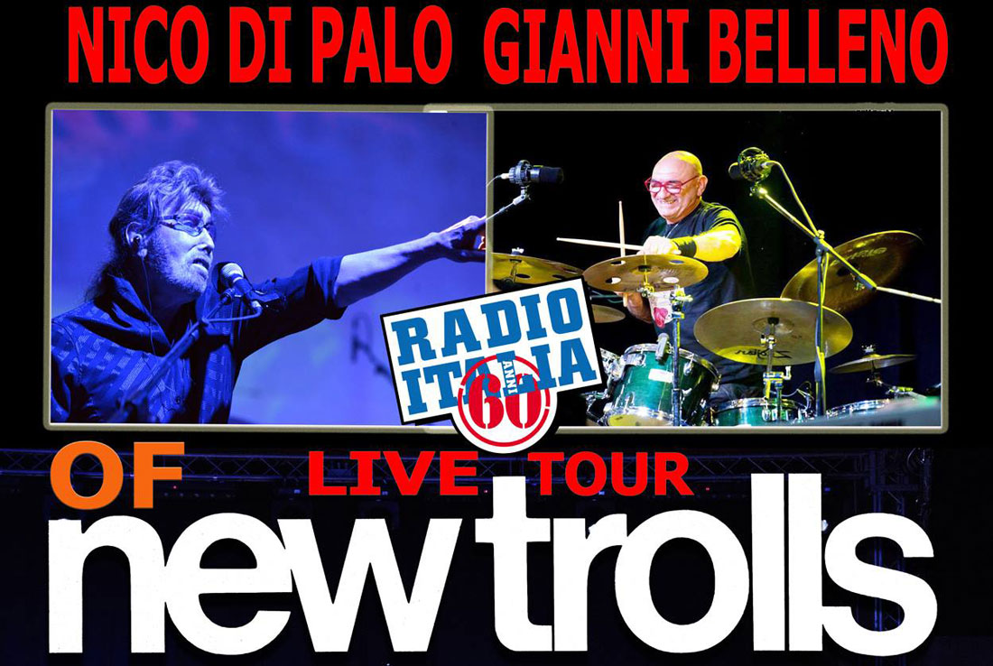 NEW TROLLS: NICO DI PALO E GIANNI BELLENO IN TOUR NEL 2018